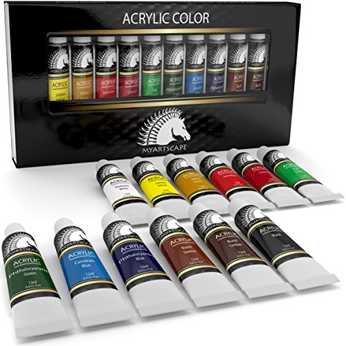 Top 10 Best Acrylic Paint Reviews For Beginners And Advanced