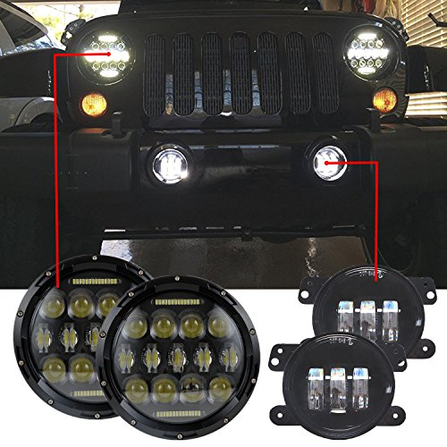 Top 10 Best Jeep Wrangler Led Headlights 2018 Reviews